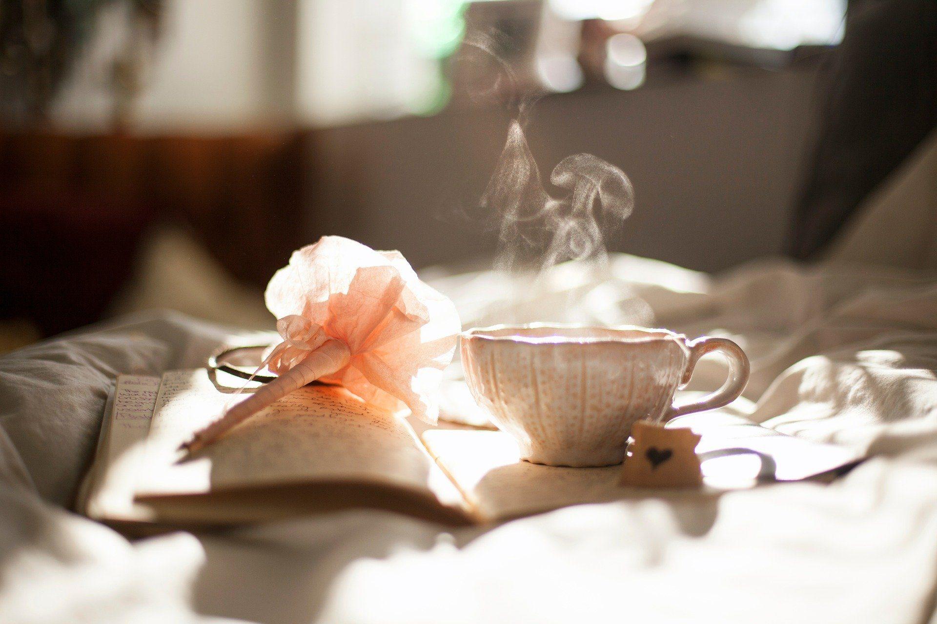 Tee, Ruhe, Kraft