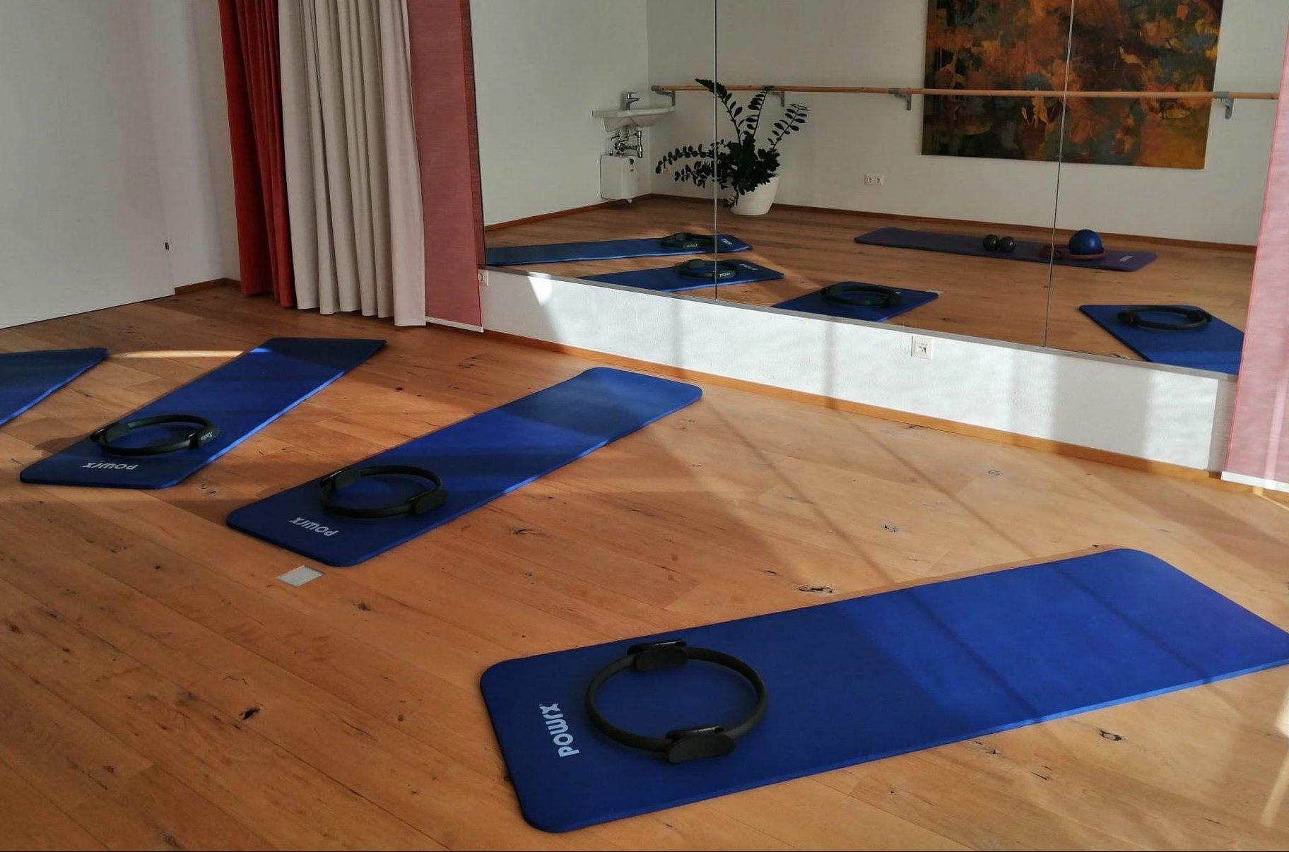 Pilates, Matte, Bewegungsraum